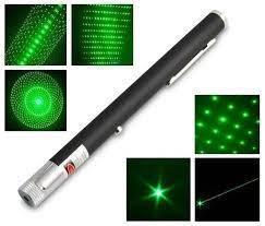 Мощная зеленая лазерная указка Green Laser 303 поджигает спички!