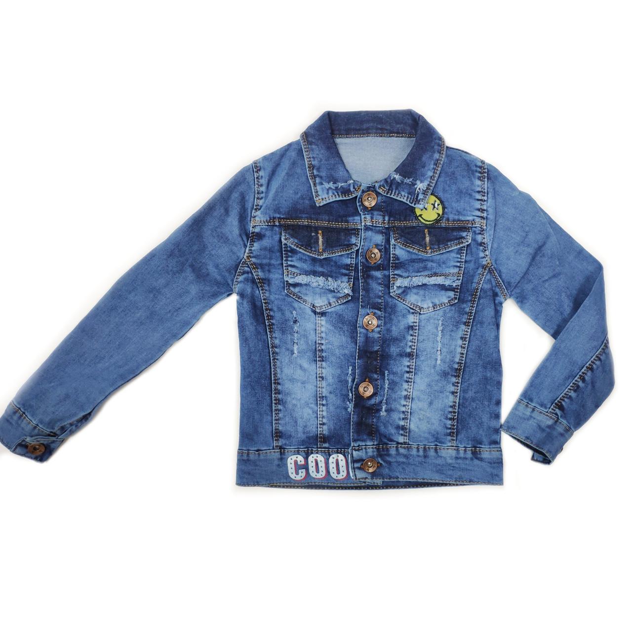 Джинсовая куртка для мальчиков 3-7 лет. Турция — купить ...