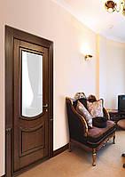 """Дверь """"Верона"""" (классика, цвет - венге + черная патина)"""