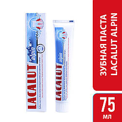 Лакалут Альпін зубна паста 75 мл, шт, 1 шт.