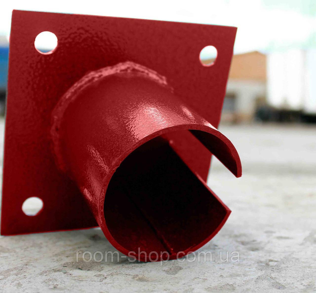Оголовники для свай 57 мм площадка 150х150 мм.