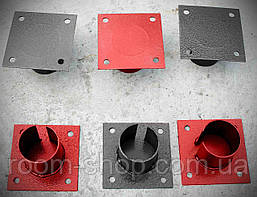 Оголовники для свай 57 мм площадка 150х150 мм., фото 3