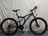 "Azimut Велосипед Azimut Blaster 24"" 17"" Black / Blue (FR/D/Blaster)"
