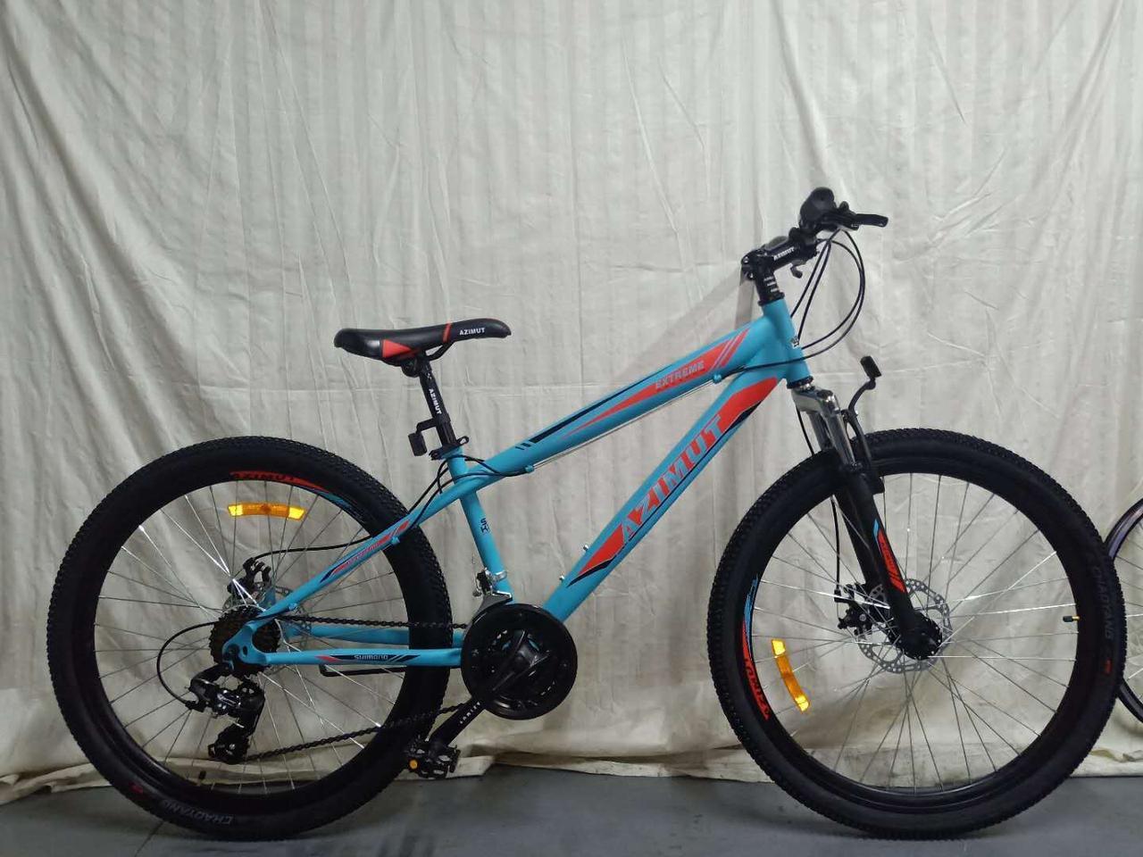 """Azimut Велосипед Azimut Extreme 26"""" 14"""" Light Blue (FR/D/Extreme)"""