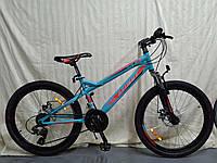 """Azimut Велосипед Azimut Hiland 24"""" 14"""" Light Blue (FR/D/Hiland)"""