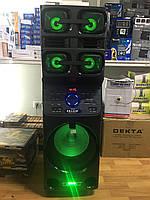 Портативная акустика с микрофонами ERA E-12 /180W (USB/Bluetooth/Пульт ДУ/FM), фото 1