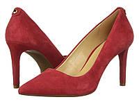 Женские оригинальные красные замшевые туфли Michael Kors, фото 1