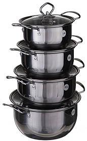 Набор кухонных кастрюль А-Плюс 2062 4 предмета