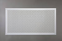 "Решетка для батареи Decorpaneli, ""Классик"", цвет белый"