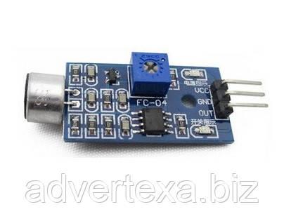 Модуль датчик звука 3pin для Arduino  AVR PIC