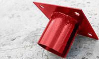Оголовки (фланцы) для свай 76 мм площадка 150х150 мм.