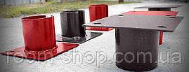 Оголовники (оголовки, фланці, пластини) для паль діаметром 76 мм майданчик 200х200 мм (палі, палі), фото 3