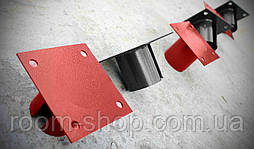 Оголовники (оголовки, фланці, пластини) для паль діаметром 76 мм майданчик 200х200 мм (палі, палі), фото 2