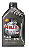 Масло моторное Shell Helix Ultra 5W-30 (SL/CF/A3/B4) 1л, синтетическое моторное масло