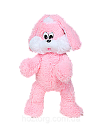 Мягкая игрушка Алина зайка Снежок 65 см розовый, фото 1