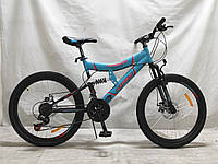 "Azimut Велосипед Azimut Tornado 26"" 19"" Light Blue (FR/D/Tornado)"