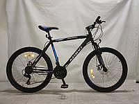 """Azimut Велосипед Azimut Spark 26"""" 20"""" Black / Blue (FR/D/Spark)"""