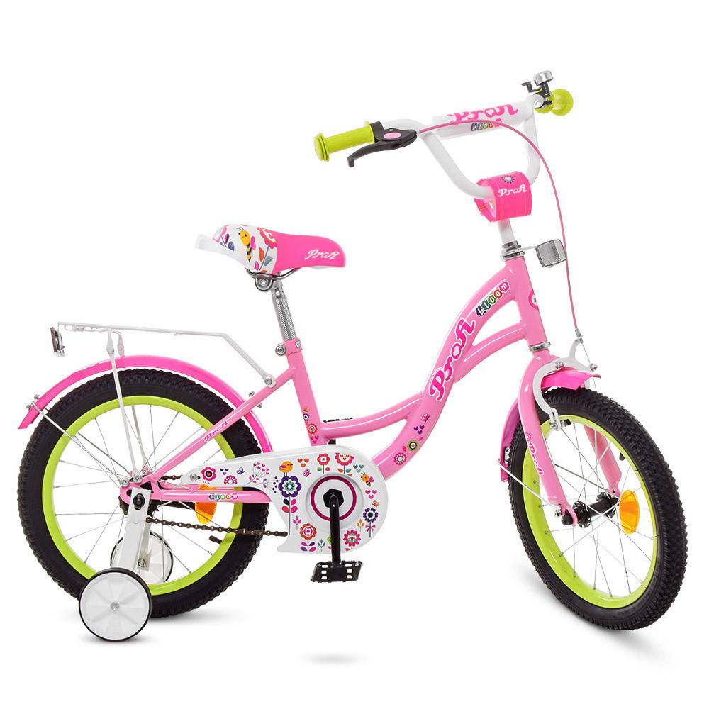 "PROFI Велосипед PROFI Bloom 18"" Y1821-1 Pink (Y1821-1)"