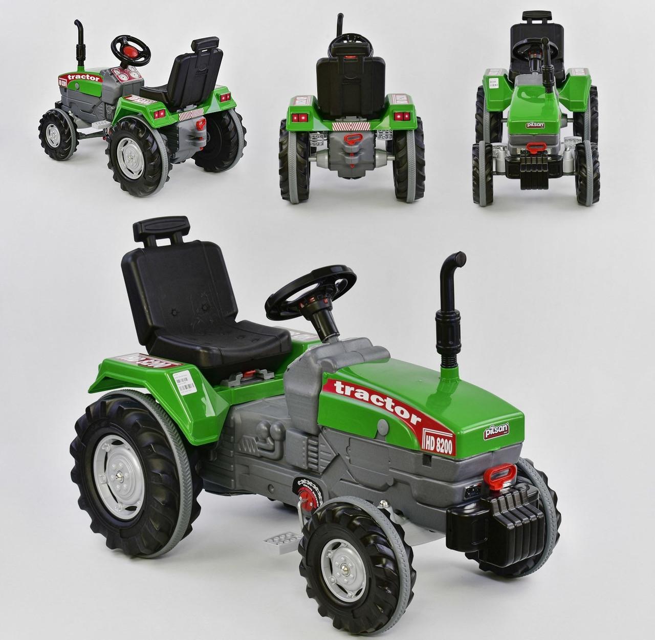i7 Трактор i7 на педалях Green (07-294)