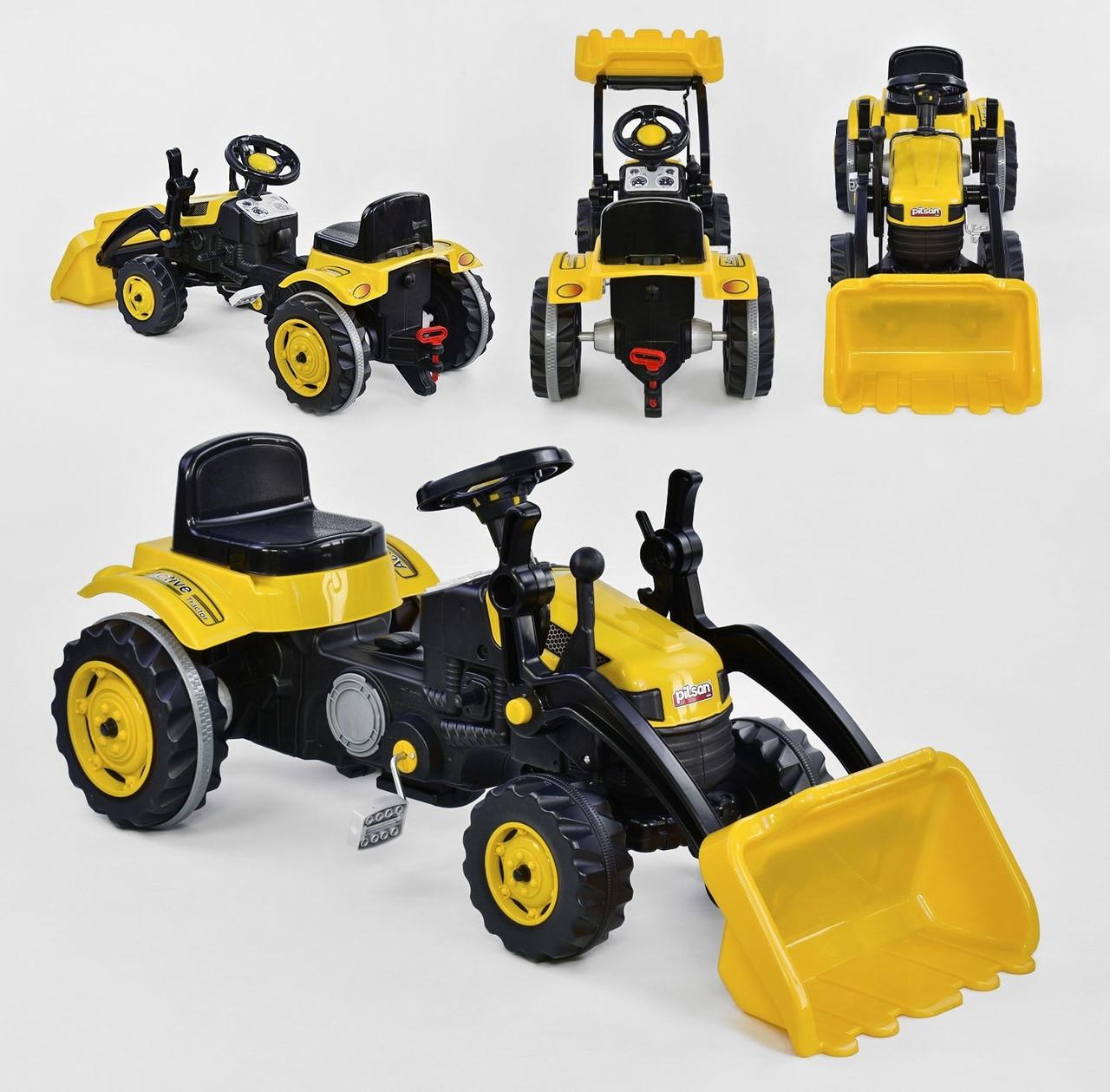 i7 Экскаватор i7 на педалях Yellow (07-315)