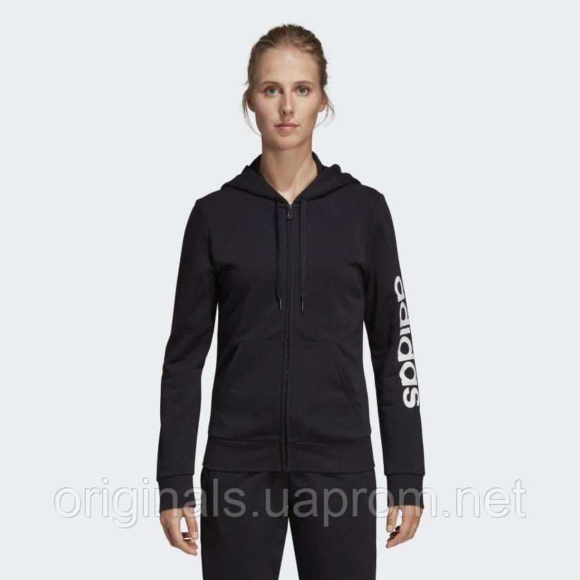 Женская толстовка Adidas Essentials Linear Hoodie DP2401