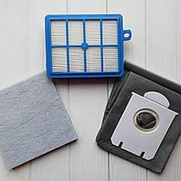 Комплект фильтров для пылесоса Philips FC9170 FC9174 FC9070 FC9060