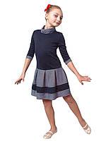 """Платье  детское с длинным рукавом   М -975 рост от 134 140 146 152 158 164 и 170 тм """"Попелюшка"""", фото 1"""