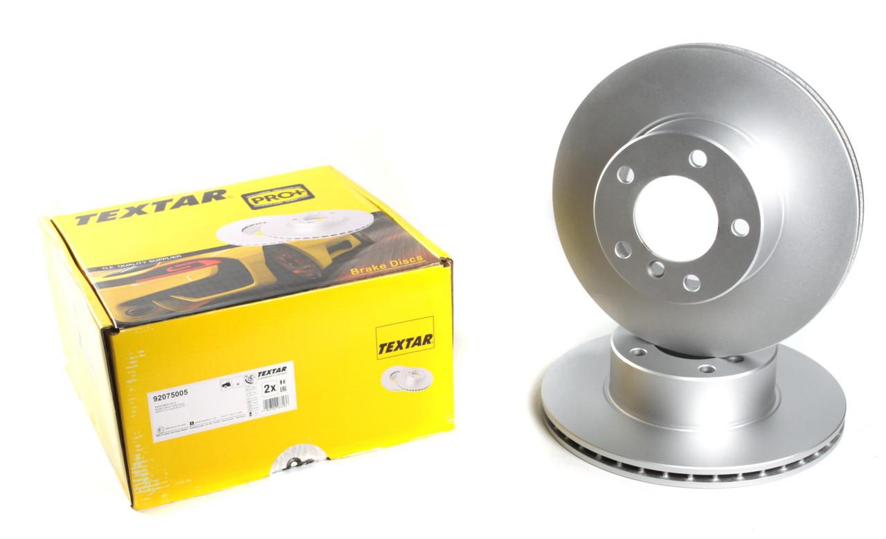 Диск тормозной (передний) BMW 5 (E39) 95-04 (296x22) PRO +