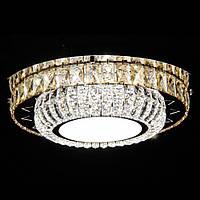 Светодиодная LED люстра СветМира с пультом управления VL-4898/500/4+2 (хромированная)