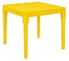 Пластиковый стол детский игровой темно-желтый
