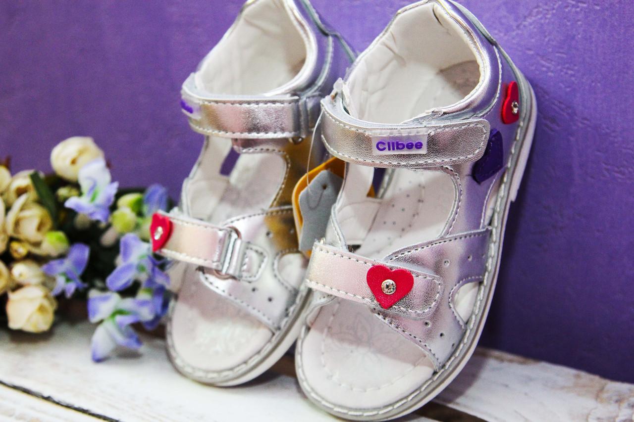 Детские   босоножки, сандалии  Clibee для девочки,размеры 20,23,24