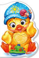 Картонна книжка-іграшка для малюків Каченятко (укр), Ранок (А393023У)