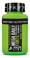 Витамины Scitec Nutrition - Mega Daily Forte + K2 D3 (90 капсул)