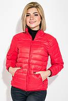 Куртка женская однотонная модель 191V003 (Алый), фото 1
