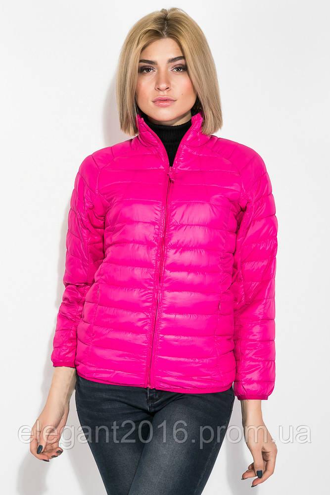 Куртка женская однотонная модель 191V003 (Фуксия)