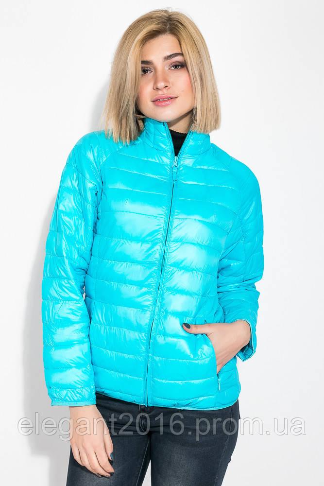 Куртка женская однотонная модель 191V003 (Голубой)
