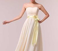 Длинное красивое платье, шампань., фото 2