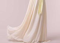 Длинное красивое платье, шампань., фото 3