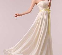 Длинное красивое платье, шампань., фото 4
