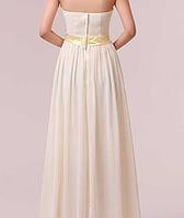 Длинное красивое платье, шампань., фото 5