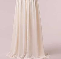 Длинное красивое платье, шампань., фото 6
