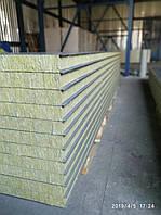 Сендвіч панель стінова базальт 100мм, фото 1