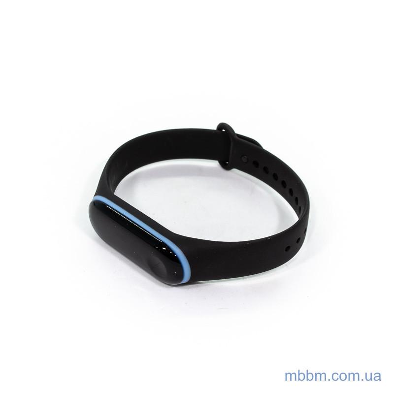 Ремешок для Xiaomi Mi Band 3 Edge black/blue