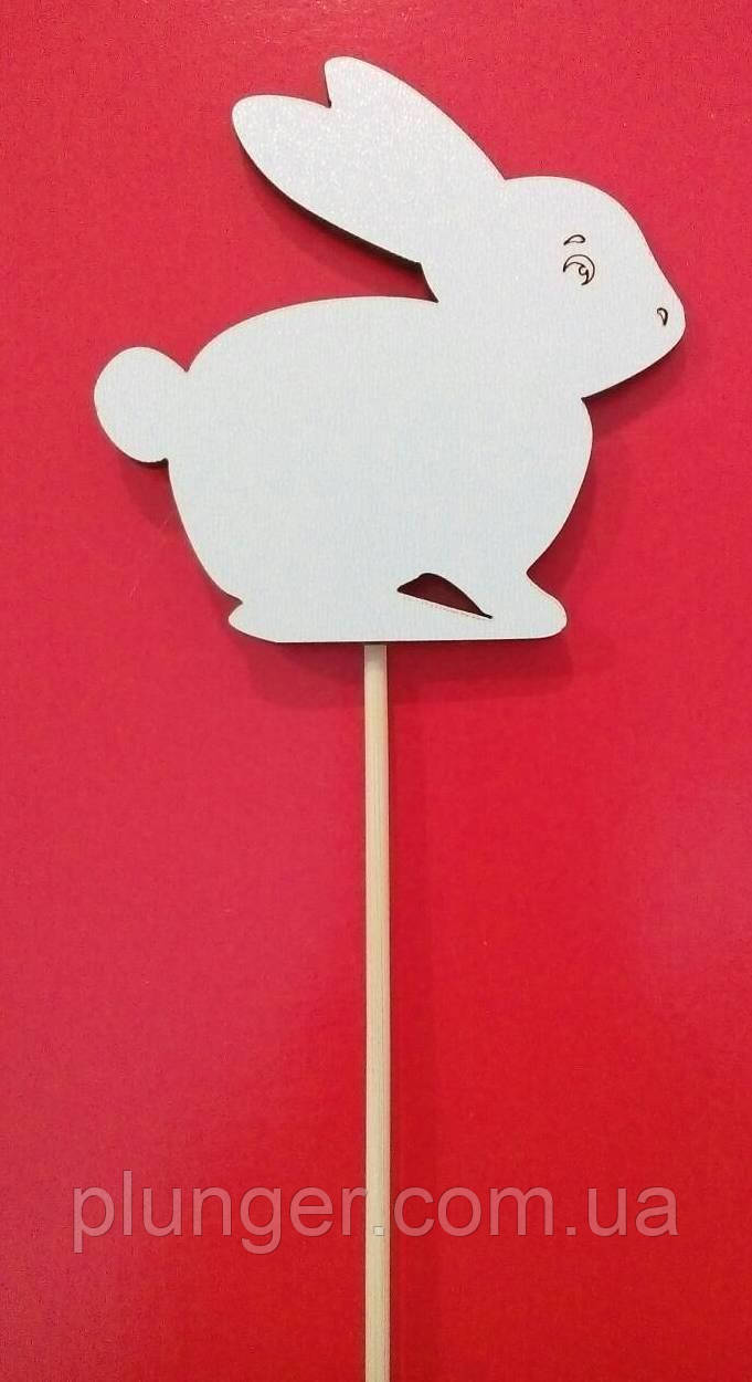 """Топпер, декор для кондитерских изделий """"Кролик"""""""