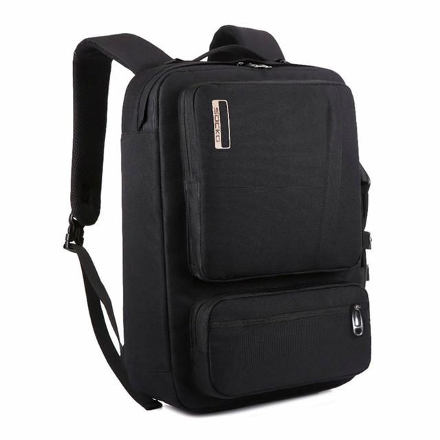 3e2c35159699 Многофункциональный Рюкзак Сумка для Ноутбука в стиле Socko 17 ...