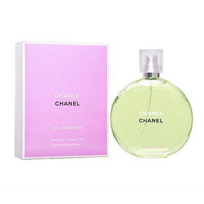Французькі жіночі парфуми CHANEL Chance Eau Fraiche туалетна вода 50ml, квітково-деревний цитрусовий аромат