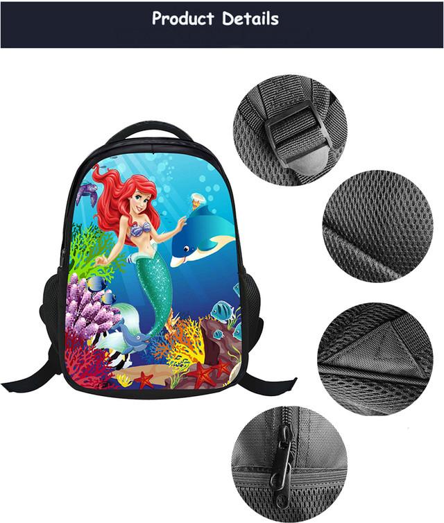 школьный рюкзак русалочка