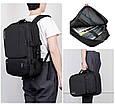 Рюкзак Сумка для Ноутбука 15-17 дюймов в стиле Socko с Наушниками, фото 9