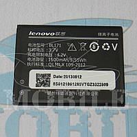 Аккумулятор lenovo A356/A368/A370e/A376/A390/A500/A60/A65 (BL171) 1500mAh