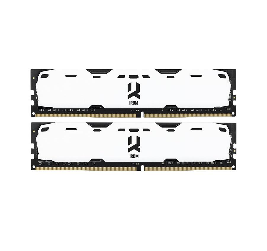 Модуль памяти DDR4 2x4GB/2400 GOODRAM Iridium White (IR-W2400D464L15S/8GDC)